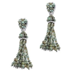Kendra Scott Turquoise Cecily Statement Earrings